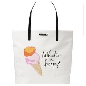 ♠️ Kate Spade What's The Scoop? Tote